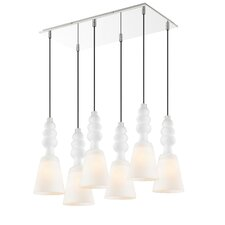 Sil 6 Light Pendant