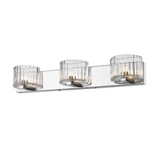 <strong>Golden Lighting</strong> Clara 3 Light Bath Vanity Light