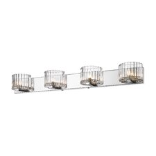 <strong>Golden Lighting</strong> Clara 4 Light Bath Vanity Light