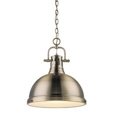 Duncan 1 Light Bowl Pendant