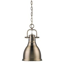 <strong>Golden Lighting</strong> Duncan 1 Light Mini Pendant