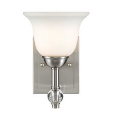 <strong>Golden Lighting</strong> Waverly 1 Light Bath Vanity Light