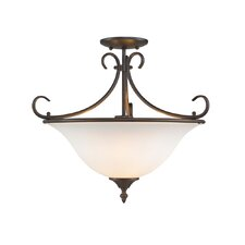<strong>Golden Lighting</strong> Homestead Semi Flush Mount
