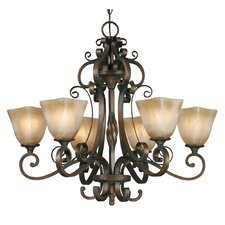 Meridian 6 Light Chandelier