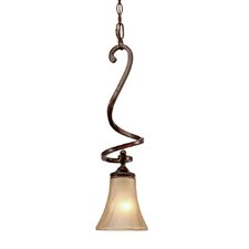 <strong>Golden Lighting</strong> Loretto 1 Light Mini Pendant