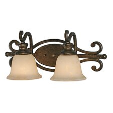 Heartwood 2 Light Bath Vanity Light