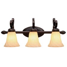 Torbellino 3 Light Bath Vanity Light