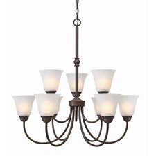 Grace 9 Light Chandelier