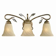 Beau Jardin 3 Light Bath Vanity Light