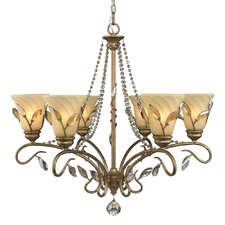 Beau Jardin 6 Light Chandelier