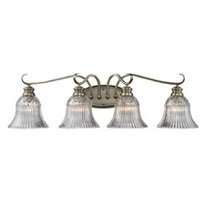 Lancaster 4 Light Bath Vanity Light