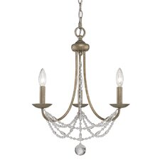 Mirabella 3 Light Mini Chandelier