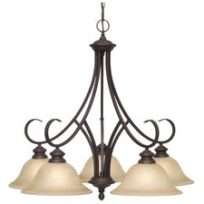 Lancaster 5 Light Nook Chandelier