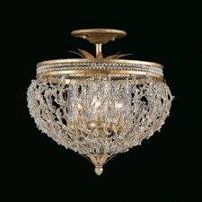 Garland 3 Light Convertible Semi Flush Mount