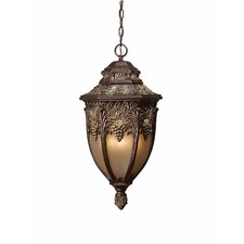 Bordeaux  4 Light Outdoor Pendant