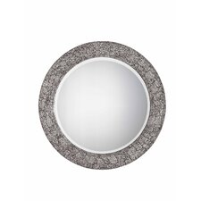 "Jewelry 33"" x 33"" Mirror in Brushed Steel"