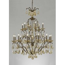 <strong>Triarch Lighting</strong> Versailles 18 Light Chandelier