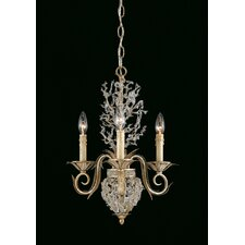 Garland 3 Light Mini Chandelier