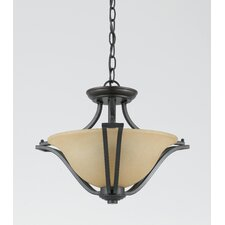 Greco 2 Light Convertible Inverted Pendant