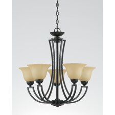 Greco 5 Light Chandelier