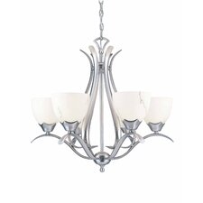<strong>Triarch Lighting</strong> Legend 6 Light Chandelier