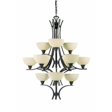 <strong>Triarch Lighting</strong> Luxor 12 Light Chandelier