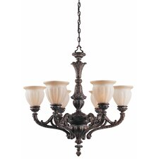 Sultan 6 Light Chandelier