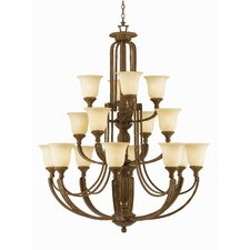 <strong>Triarch Lighting</strong> Ambassador 16 Light Chandelier
