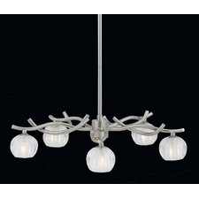 Cosmo 6 Light Chandelier