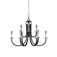 <strong>Triarch Lighting</strong> Oxford 9 Light Chandelier