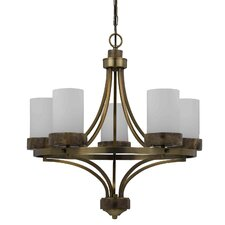 Travertino 5 Light Chandelier
