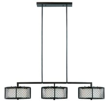 Chainlink 6 Light Kitchen Island Pendant