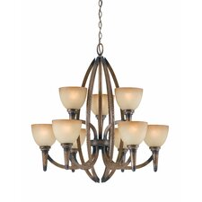 <strong>Triarch Lighting</strong> Olympian 9 Light Chandelier