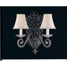 Grand 2 Light Wall Sconce