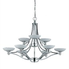 <strong>Triarch Lighting</strong> Halogen VII 9 Light Chandelier
