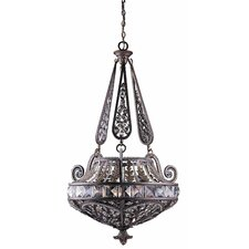 Grand 6 Light Inverted Pendant