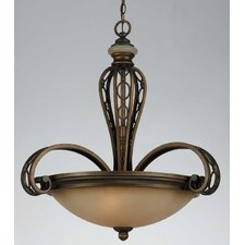 <strong>Triarch Lighting</strong> Ironstone 3 Light Pendant