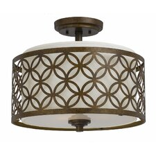 <strong>Triarch Lighting</strong> Orion 3 Light Semi-Flush Mount