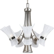 <strong>Triarch Lighting</strong> Bali-II 6 Light Chandelier