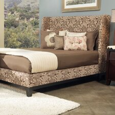 Marlowe Shelter Wingback Bed