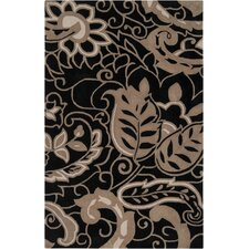 Hudson Park Safari Tan/Jet Black Rug
