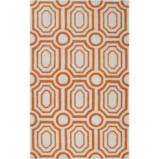 <strong>angelo:HOME</strong> Hudson Park Golden Ochre/Winter White Rug
