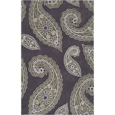 Hudson Park Turtle Green/Charcoal Gray Rug