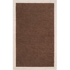 Madison Square Coffee Bean/Parchment Rug