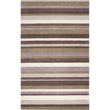 <strong>angelo:HOME</strong> Madison Square Dark Brown Multi Rug