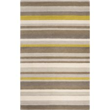 Madison Square Green/Yellow Area Rug
