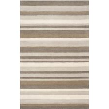 Madison Square Brindle Brown/Tan Area Rug
