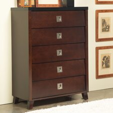 <strong>angelo:HOME</strong> Marlowe 5 Drawer Chest