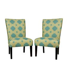 Bradford Shoreline Slipper Chair (Set of 2)