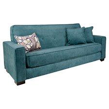 Alden Convertible Sofa in Parisian Teal